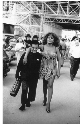 Azzedine Alaïa and Tina Turner