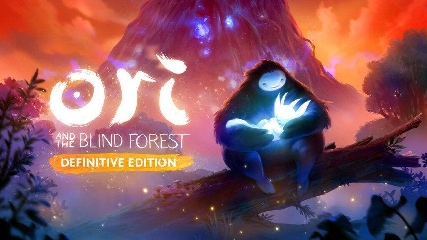 Main art with logo for Ori and the Blind Forest Definitive Edition - horizontal